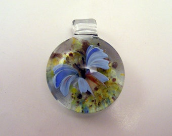 Heady pendant butterfly jewelry hand blown pendant glass pendant heady glass blown pendant glass blowing jewelry heady necklaces butterfly