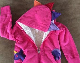 Unicorn hoodie Pink Rainbow