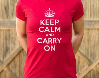 Keep Calm And Carry On - For girl