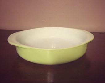Vintage Pyrex Lime Green Cake Pan #221