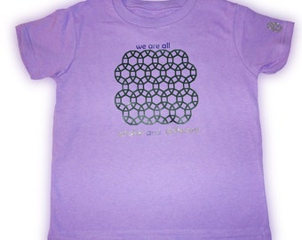 Size 5/6 Lavender Tessellations II T-Shirt