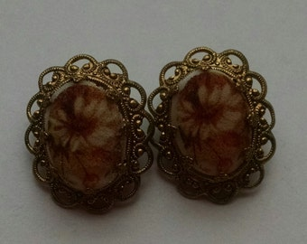 Vintage West Germany Clip Earrings