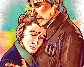 Han and Leia Print