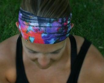 Yoga Headband, Fitness Headband, No Slip Headband, Workout Headband, Stretch Headband, Running Headband, Headband