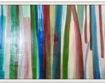 Modern abstract oil painting