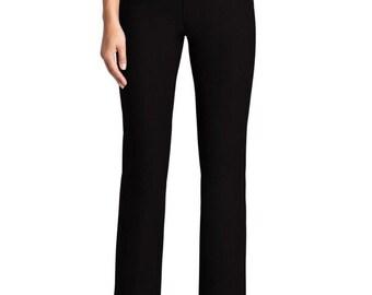 Womans Tummy Control Black Pants