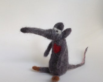 OOAK, Mouse,Feltpet, felt mouse, felted mice, needle felt mouse