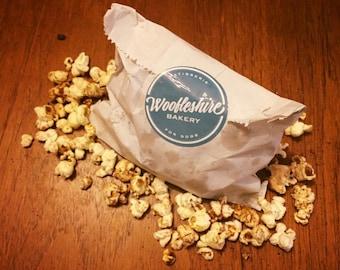 Homemade Beef Jerky Pupcorn, Dog Popcorn, Gourmet Dog Treats, Dog Biscuits