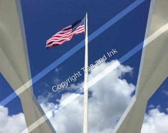 A Proud Flag Print