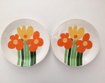 SOLD    2 x Annemarie Figgjo Flint Norway Plates
