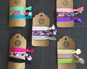 Disney themed Hair ties