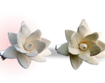Clip hair flower n 2