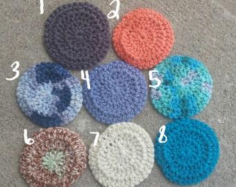 100% Cotton Face Wash Cloths: Set of 5