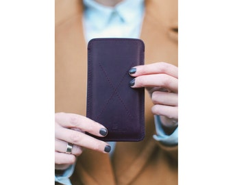 iPhone Case 7, iphone 7 case leather, iPhone 7 Case, Personalized Case, Leather Sleeve, iPhone 7 Sleeve, Leather Gift, Gift For Her