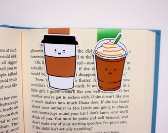 Coffe Magnetic Bookmarks
