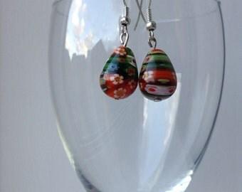 Pretty millifiori earrings
