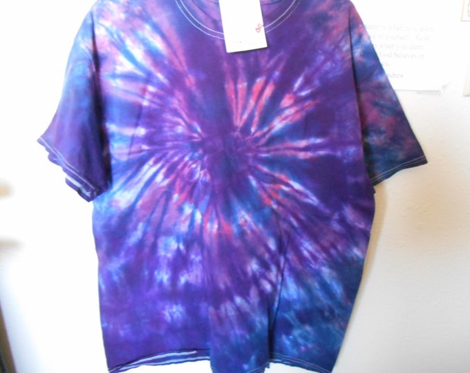 100% cotton Tie Dye T shirt - MMXL1 Size XL