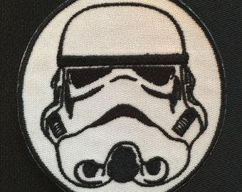 Storm Trooper Embroidered Patch