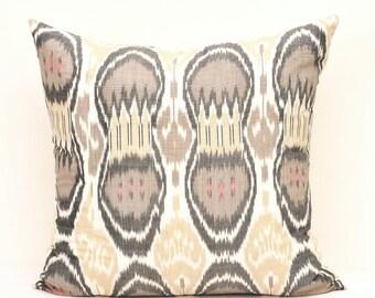 Ikat Pillow, Ikat pillows, throw pillow, designer pillow 20 x 20 inch