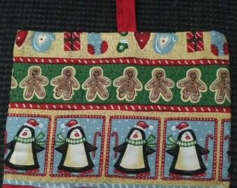 Gift Bag:  Penguin Christmas
