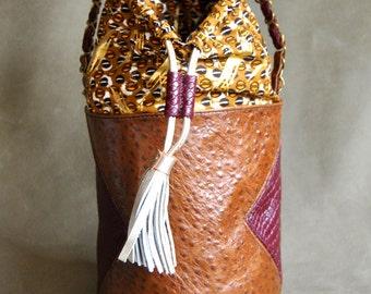 The mini bag Lola (mini bucket bag)