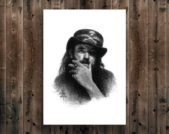 LEMMY ||Limited Edition Art Print||