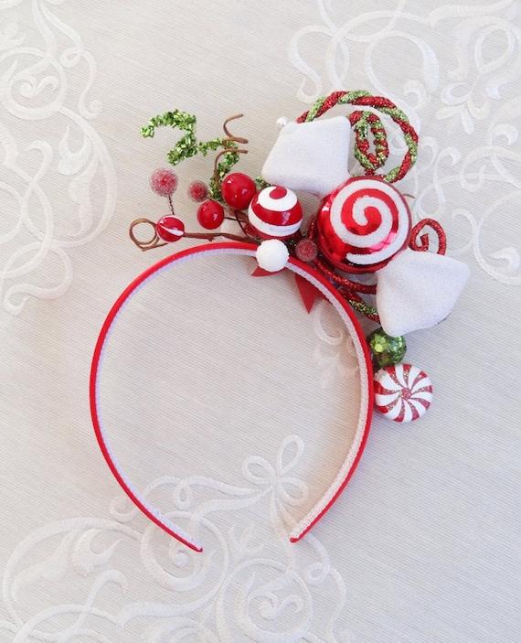 Red Christmas Headband,