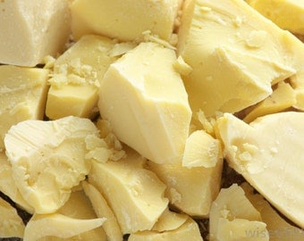 Cocoa Butter- Organic 8 oz, Soap Making Supply, Body Butter Supply, Lotion making Supply
