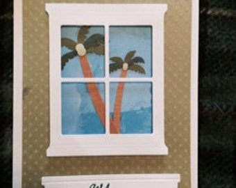 Palm Tree Card