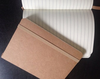Kraft A6 notebook