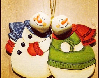 Snowmen Christmas Ornament