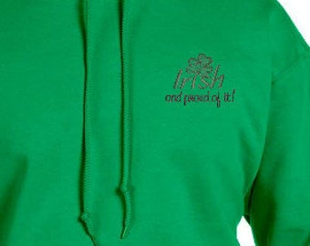 Show Your Irish Pride - Hoodie with Custom Embroidery