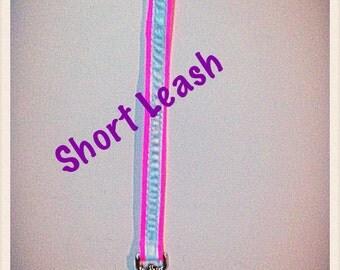 Dog Leash, Reflective (Short)