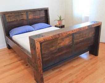 Reclaimed Wood Bedframe
