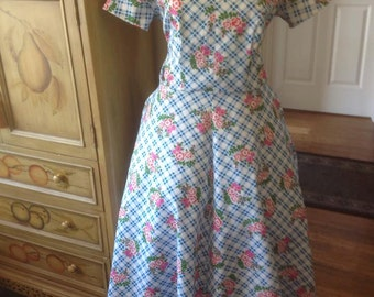 Reproduction 50s dDress size 14