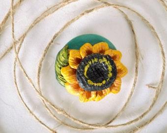 Fridge magnet 'Sunflower'