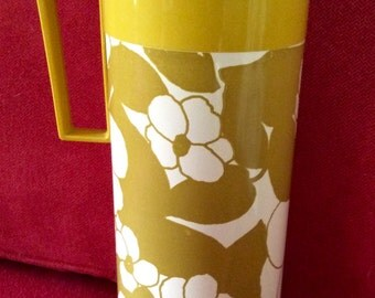 Vintage Aladdin Beverage Butler Gold Tone insulated coffee carafe/Thermos Excellent Condition