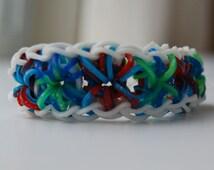 Starburst Bracelet Tie-Dye Glitter bands