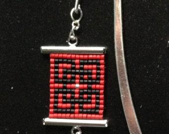 Seed Bead Bookmark