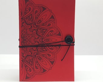 The 5 -in- 1 Traveler's Notebook - Red