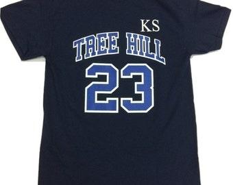 Tree Hill Scott Jersey T-Shirt - Navy -