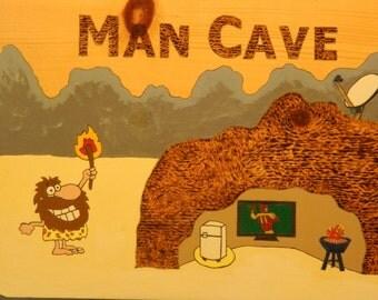 Man Cave wall hanging