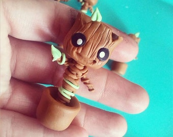 Baby Groot Pendant / Necklace