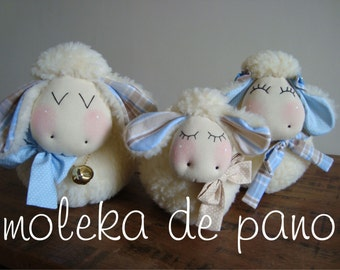 Family of lambs / sheep - PDF Pattern