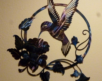 Hummingbird Wall Art W6