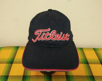 Rare vintage TITLEIST Golf's Symbol Of Excellence Cap Hat Free size fit all