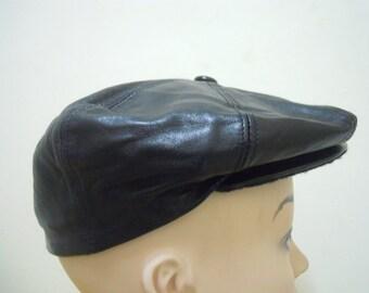 RARE Vintage SALVATORE FERRAGAMO   Luxury   Swag Flat Cap Hat Size 58