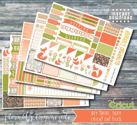 Daily Planner Stickers