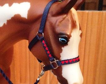 Heart overlay halters - Breyer - Model horse