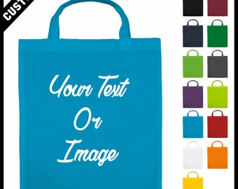 cheap printed bags with your logo blue Polypropylene shoppers bags